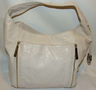 Michael Kors Crosby Large Hobo Bag Handbag Purse Vanilla Color