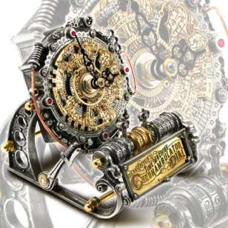 Alchemy Time Machine Chronambulator Dial Gentlemans Steampunk Style