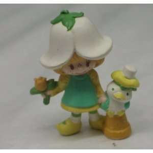 Vintage Pvc Figure  Strawberry Shortcake Mint Tulip