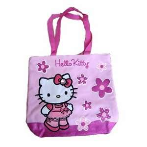 Hello Kitty  Tote Bag (Pink) Toys & Games