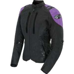 Joe Rocket Atomic 4.0 Womens Textile Street Motorcycle Jacket w/ Free