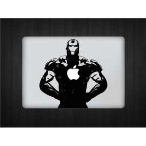 Iron Man Macbook Decal Black Electronics