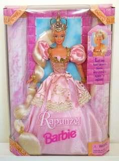 Rare RAPUNZEL BARBIE~Part of Prince Ken Jewel Set~NRFB