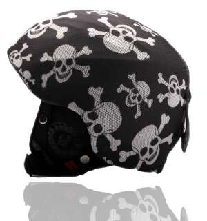Snowboard / Ski Helmet Cover Pirates Style Best Gift For Xmas