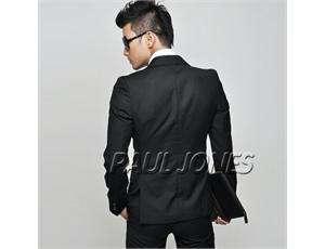 Formal/Business Dress PJ Mens Dress Slim Fit One Button Party Suit