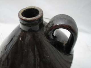 JOHNSON CO BAKERS CONFECTIONERS BOSTON MASS CROCK STONEWARE JUG BOTTLE