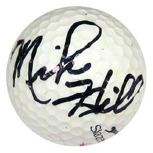 Mike Hill Autographed / Signed Golf Ball Sports