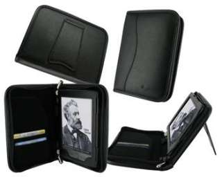Leather Case Cover for  Kindle 4 Latest Model Black