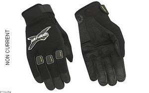 SKI DOO MENS X TEAM CREW GLOVES NEW BLACK 446154