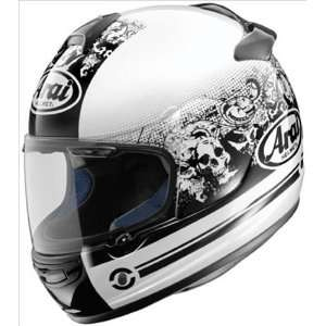 Arai Vector 2 Motorcycle Helmet   Thrill White X Large