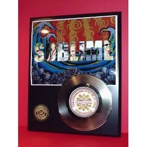 SUBLIME GOLD RECORD LIMITED EDITION DISPLAY Everything