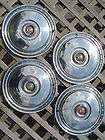 56 FORD FAIRLANE T BIRD THUNDERBIRD HUBCAPS WHEEL COVERS CENTER CAP