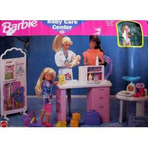 Barbie Baby Care Center Playset (1996 Arcotoys, Mattel