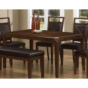 Matilda Rectangular Contemporary Semi Formal Dining Table