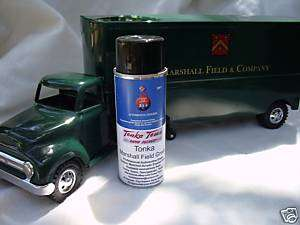 TONKA PAINT ~ ORIGINAL MARSHALL FIELD GREEN COLOR~PARTS