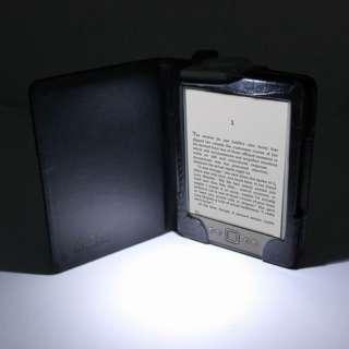 Lighted Leather Folio Case Cover Black PU Illumicase K4 5060261161662