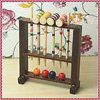 Dollhouse Miniature Garden Toy wooden croquet set H6.7cm RL1335
