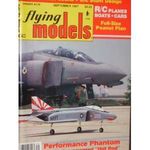 Flying Models Magazine (September, 1987) staff Books
