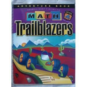 Math Trailblazers Grade 4 Adventure Book Books