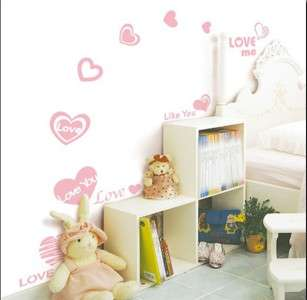 YOU Kids Wall sticker for Kids room/Nursery, 16 wall stickers