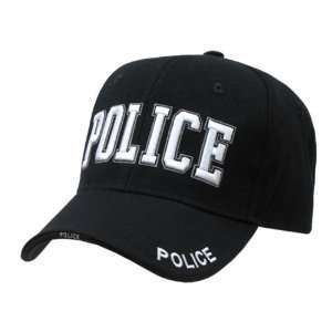 Embroidered Law Enforcement Caps Police Cap Black