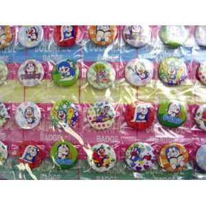 72 New Assorted Doraemon Buttons Pins Toys & Games