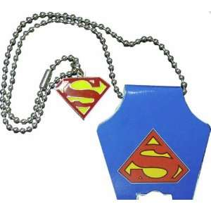 Superman Logo Necklace (SMNL01): Sports & Outdoors