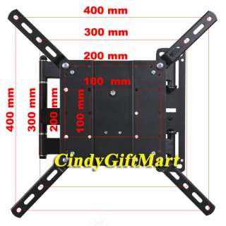Tilt Swivel VESA Extender Flat Panel LCD LED TV Wall Mount Bracket A47