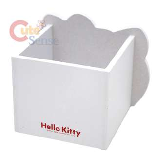Sanrio Hello Kitty Wooden Pencil Holder/Organizer  Face