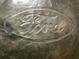Vintage Ford Hub Cap  Antique Auto Tractor Old Model