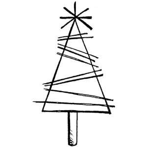 Penny Black Rubber Stamp Little Tree