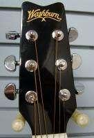 Washburn EA9B Acoustic Electric Guitar Black |