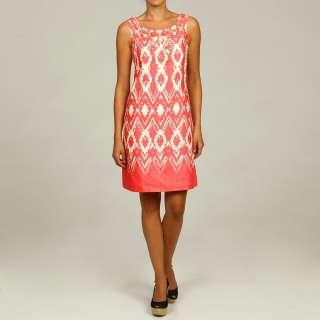 Eliza J Womens Pink Bead embellished Dress
