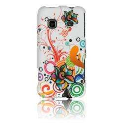 Luxmo Autumn Flower Rubber Coated Case for Samsung Galaxy Prevail