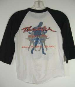 VINTAGE 80S MICHAEL JACKSON THRILLER T SHIRT ORIGINAL SIZE SMALL