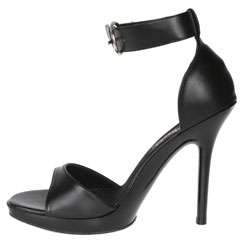 Pleaser Vogue Womens Black Ankle strap Sandals