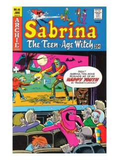 Archie Comics Retro Sabrina The Teenage Witch Comic Book Cover #46