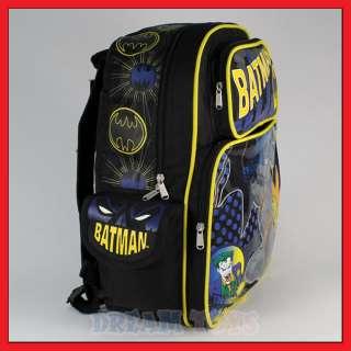 16 Batman The Joker is Back Backpack Book Bag Large
