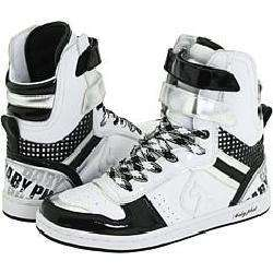 Baby Phat Adore Cat High White/Black/Silver Athletic