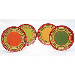 International Hot Tamale Dinner Plates (Set of 4)  Overstock
