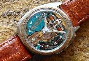 e0ba991eb Bulova Accutron® Asymmetrical Spaceview Wrist Watch Signed Second ...