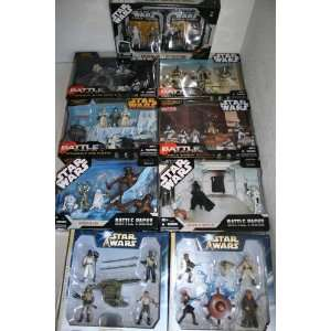 9 Star Wars Battle Pack sets Toys & Games