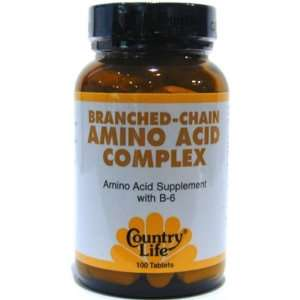 Branched Chain Amino Acid Complex 100 Tablets Health