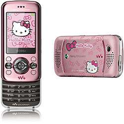 Sony Ericsson W395i Hello Kitty Unlocked Cell Phone
