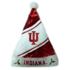 Indiana Hoosiers HIMO Colorblock Santa Hat Sports