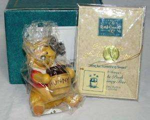 WDCC Disney Winnie Pooh Time For Something Sweet +COA