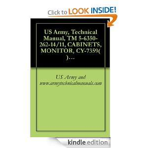 , Technical Manual, TM 5 6350 262 14/11, CABINETS, MONITOR, CY 7359