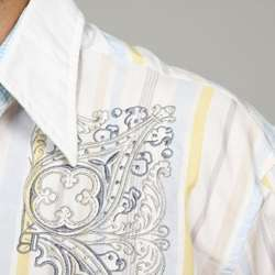 English Laundry Mens Benchill II Woven Shirt