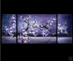 Feng Shui Abstract Art Plum Blossom Flower Painting
