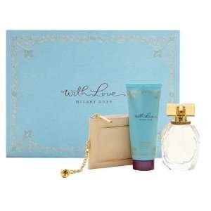 Hilary Duff With Love Perfume Gift Set for Women 3.3 oz Eau De Parfum
